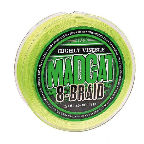 Madcat 8-Braid 270M 300yd 0.35mm