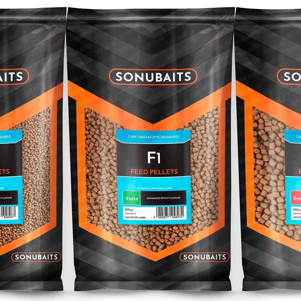 F1 Feed Pellets - taskers-angling