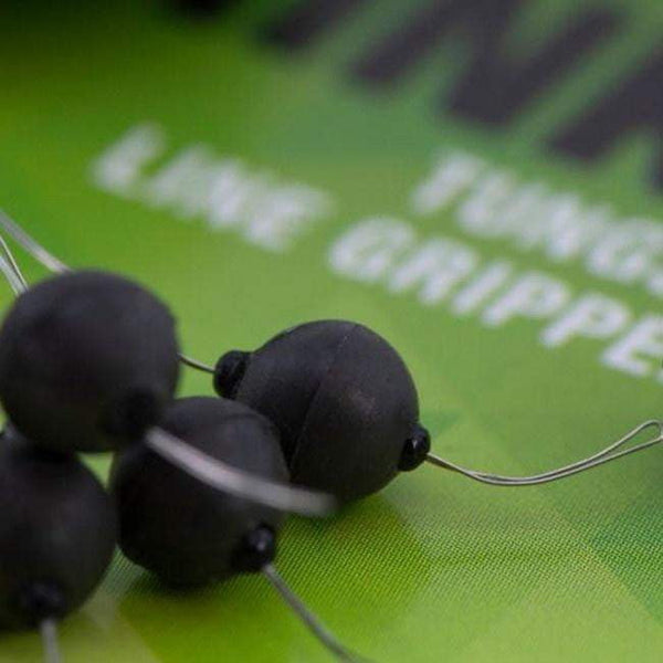 THINKING ANGLERS LINE GRIPPER BEADS 5MM TUNGSTEN - taskers-angling