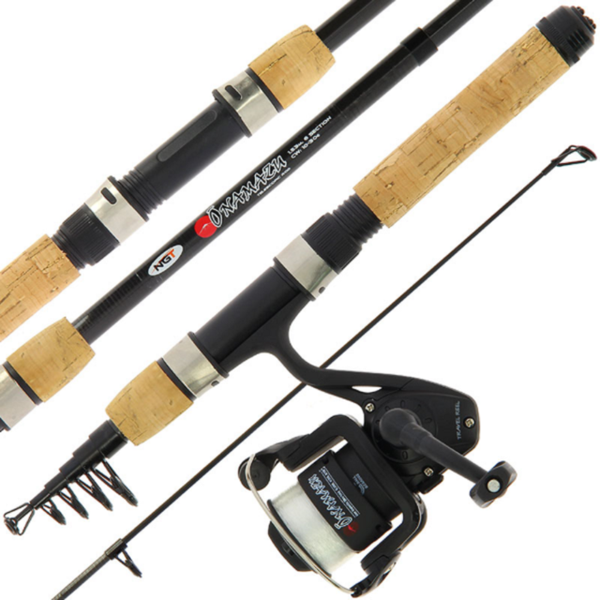 NGT Onamazu Travel Telescopic Rod & Reel Combo