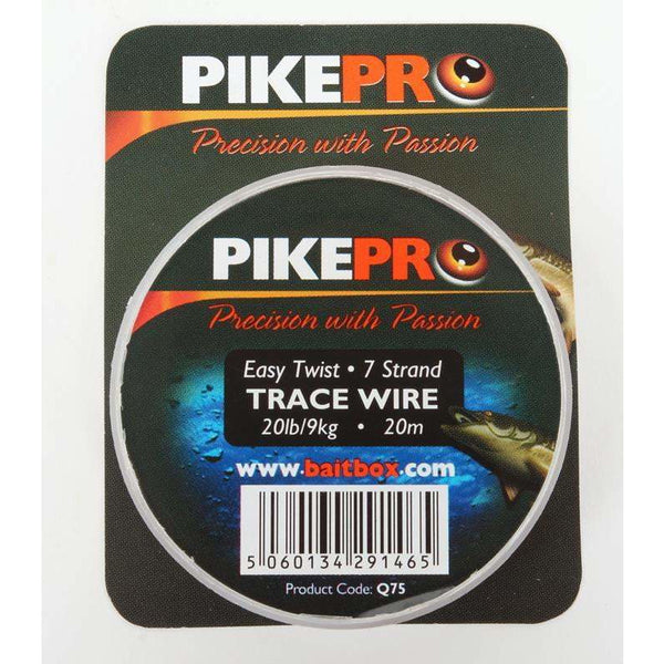PikePro Trace Wire 7 Strand 20m - taskers-angling