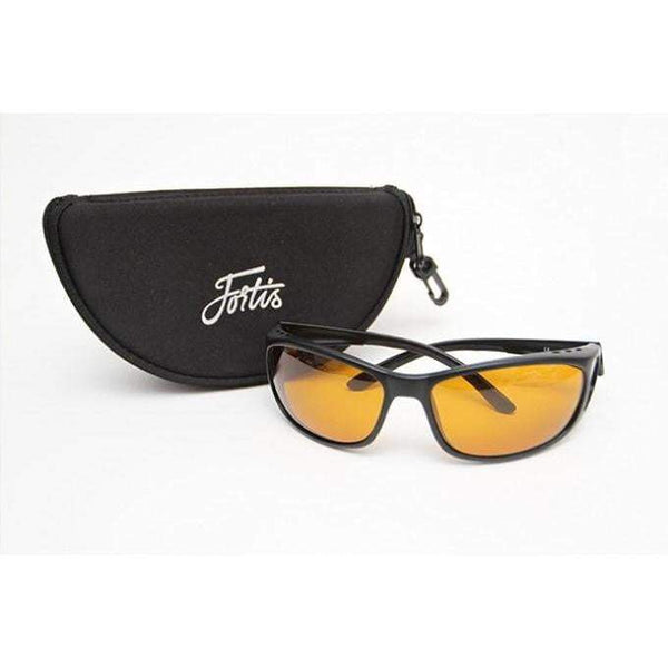 Fortis Wraps AM/PM Amber Sunglasses - taskers-angling