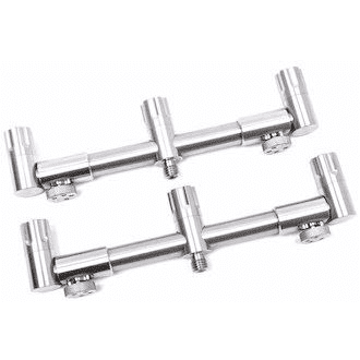 Jag Stainless 316 Adjustable Rear Buzz Bar - taskers-angling