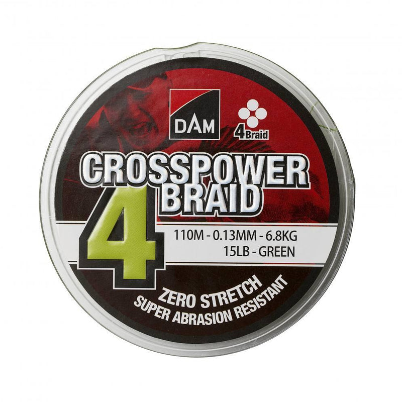 Dam Crosspower 4-Braid 300m