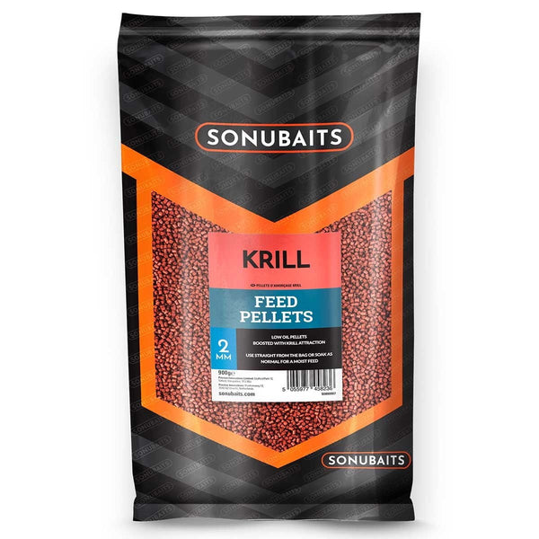 Krill Feed Pellets - taskers-angling