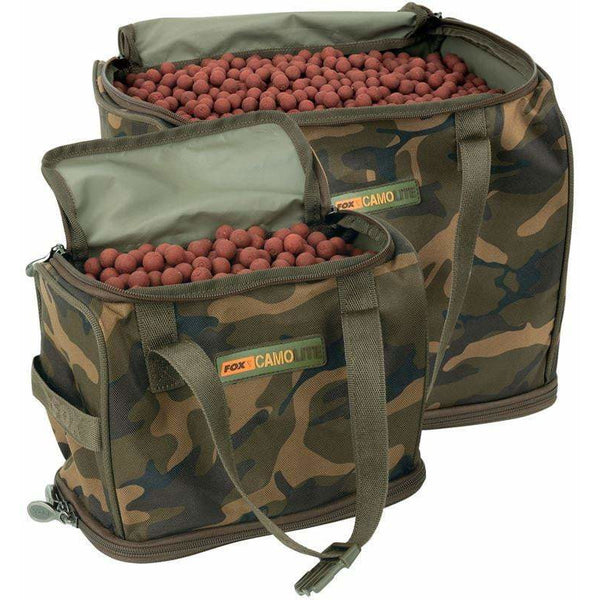 Fox Camolite Bait/Air dry Bag - taskers-angling
