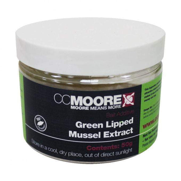 C C Moore Green Lipped Mussel Extract 50g - taskers-angling