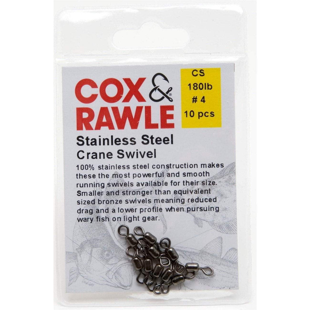 Cox & Rawle Stainless Steel Crane Swivels - taskers-angling