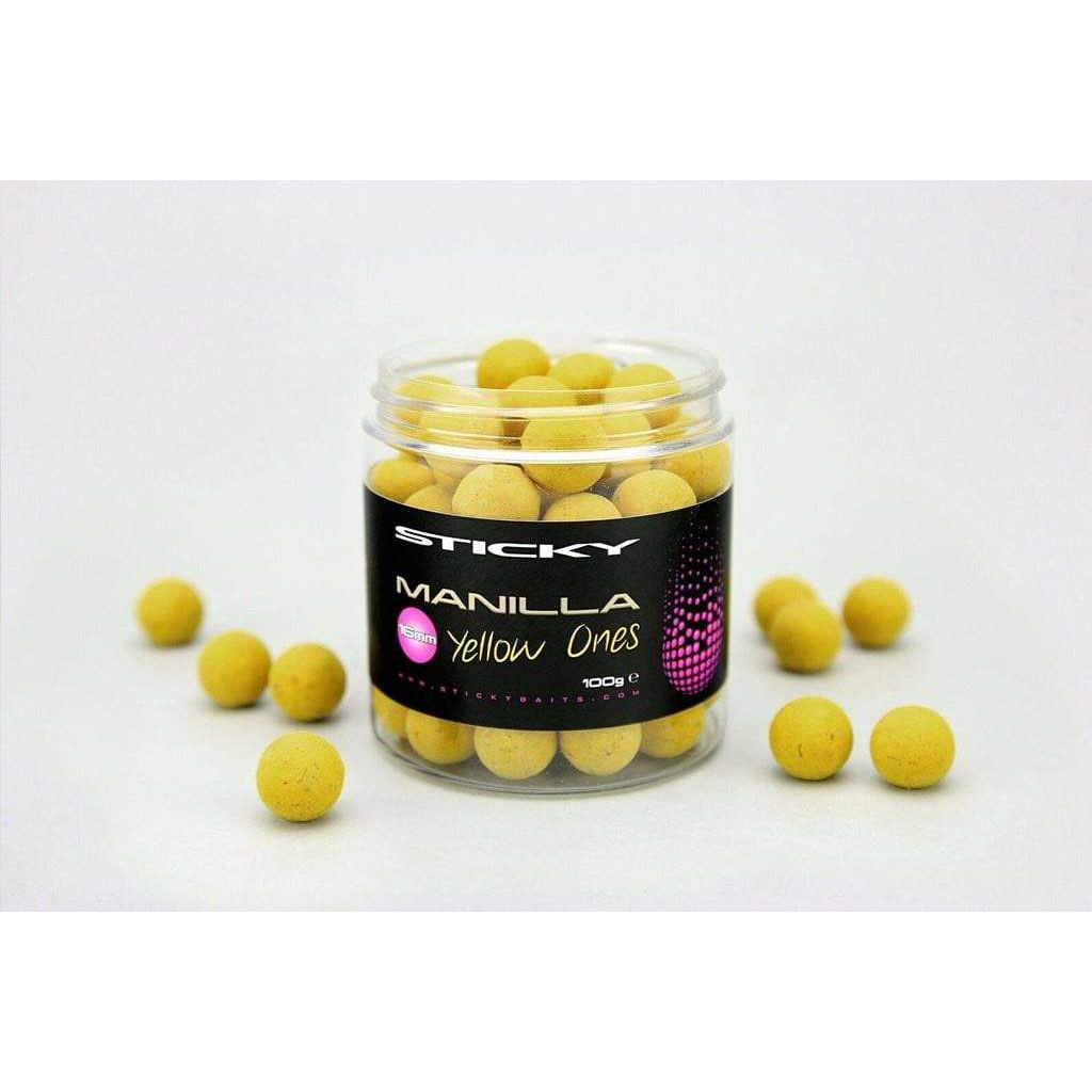 Manilla Yellow Ones 16mm - taskers-angling