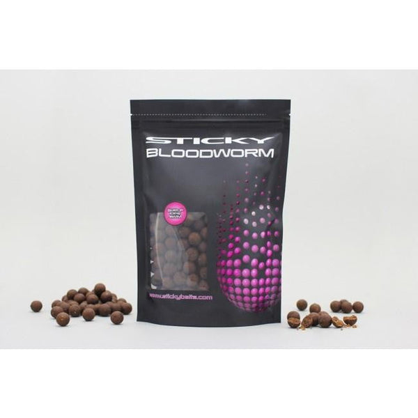 Bloodworm Shelf Life Boilies 1kg - taskers-angling