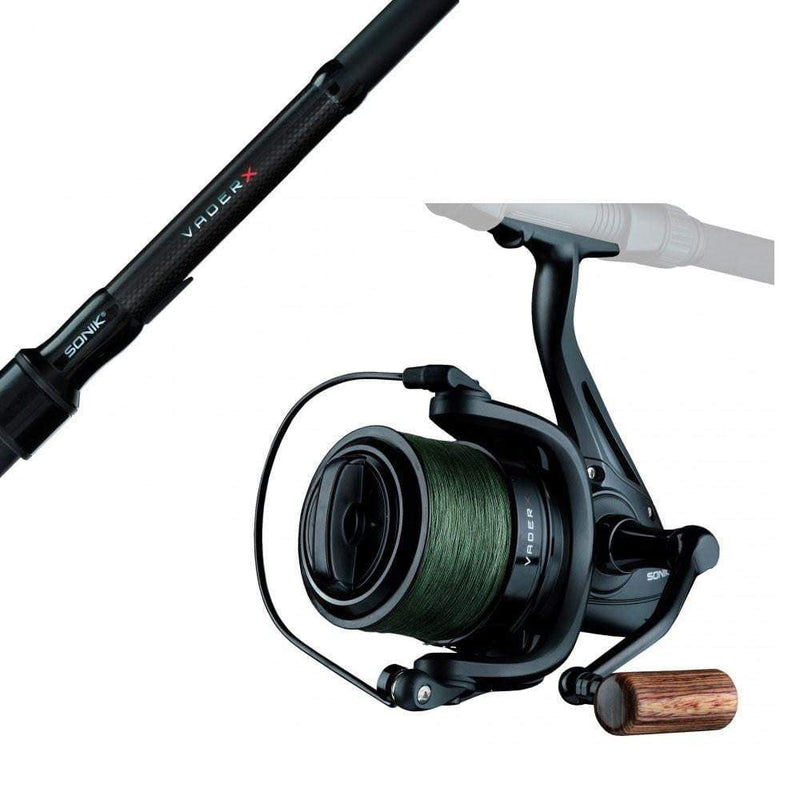 Sonik Vader X Spod and Marker Rod and Reel Combo - taskers-angling