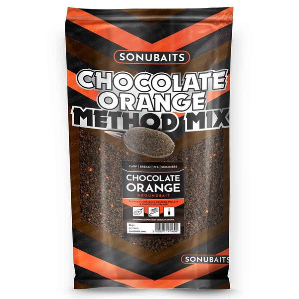 Sonu Baits Chocolate Orange Method Mix (2kg) - taskers-angling