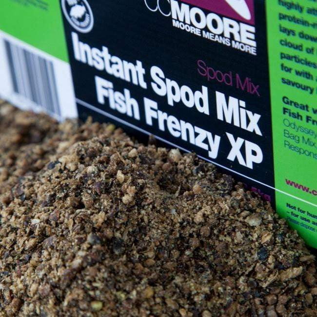 C C Moore Fish Frenzy Instant Spod Mix 2.5kg Bucket - taskers-angling