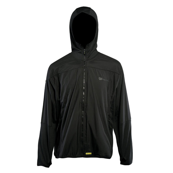 RidgeMonkey Dropback Lightweight Zip Jacket Black