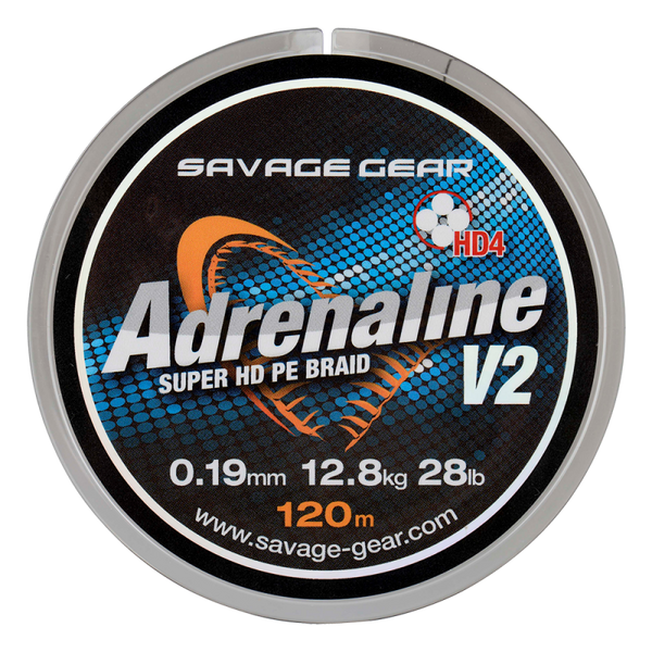Savage Gear HD4 Adrenaline V2 120m Grey