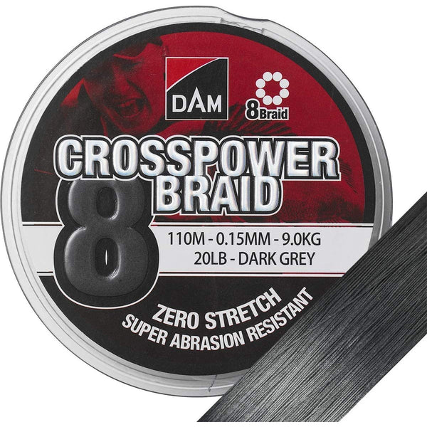 Dam Crosspower 8-Braid 300m