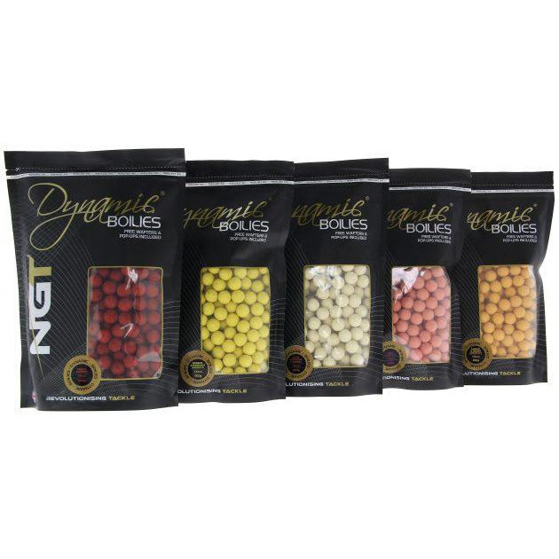 NGT Dynamic Boilies 15mm 900g
