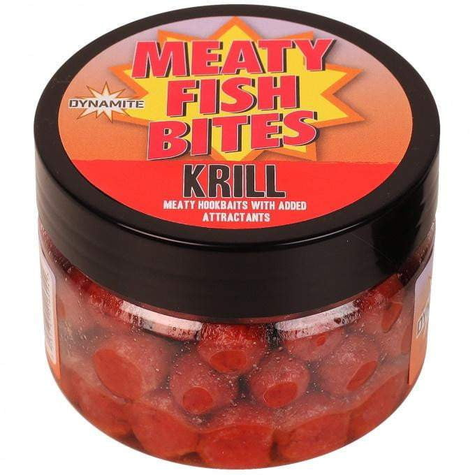 Meaty Fish Pellets - 8mm Red Krill - taskers-angling