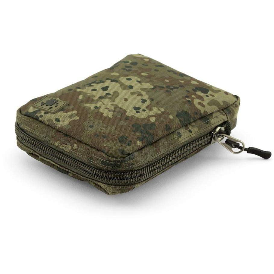 Thinking Anglers Camfleck Solid Zip Pouch Large - taskers-angling