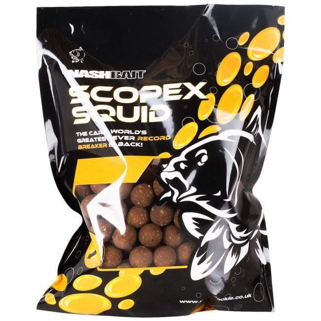 Nash Scopex Squid Stabilised Boilies 18mm 5kg - taskers-angling