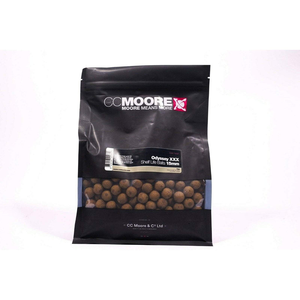 C C Moore Odyssey XXX Shelf Life 15mm 1kg - taskers-angling