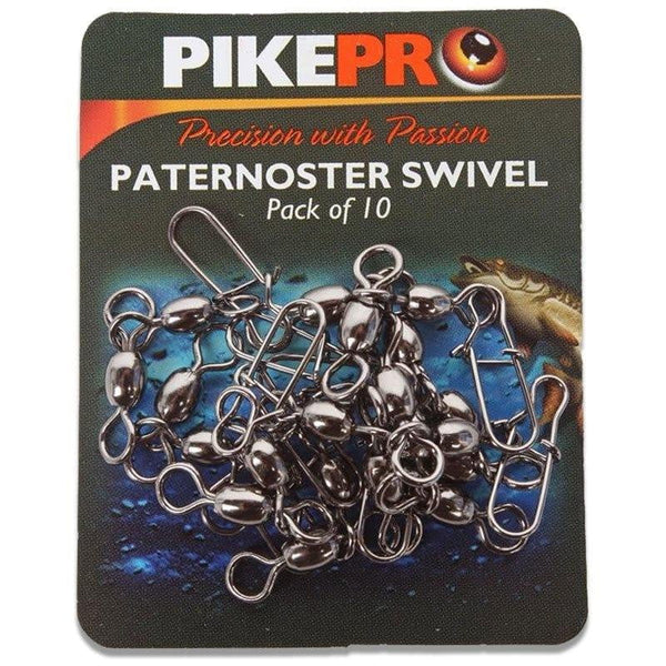PikePro Paternoster Swivel (pk of 10) - taskers-angling
