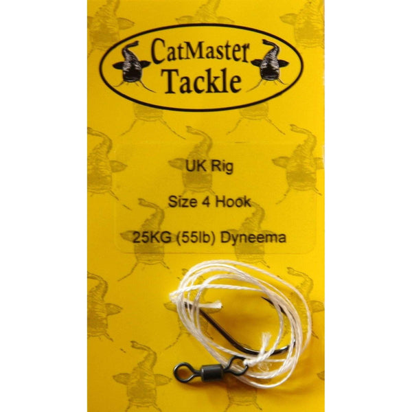 CatMaster Standard Rig to 50kg (110lb) Dyneema - taskers-angling