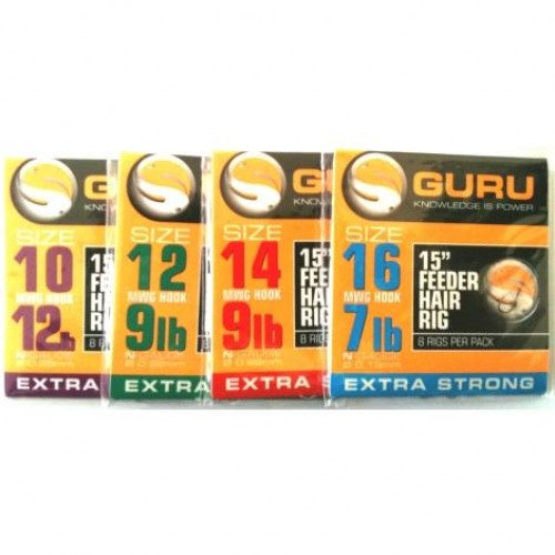 Guru Feeder Rig 15in 0.25mm size 10