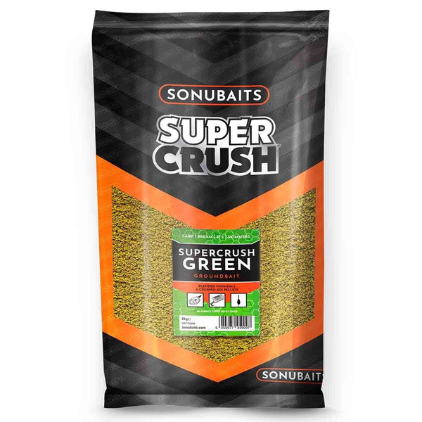 Supercrush Green (2kg) - taskers-angling