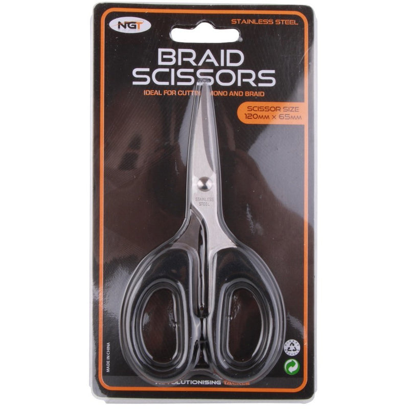 NGT Black Braid Scissors