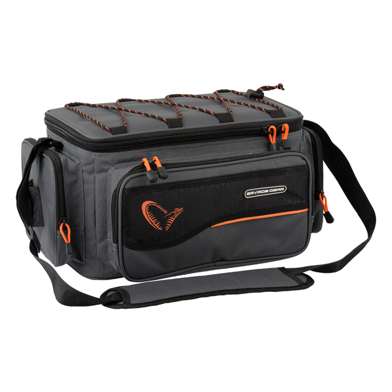 Savage Gear System Box Bag Large + 4 boxes