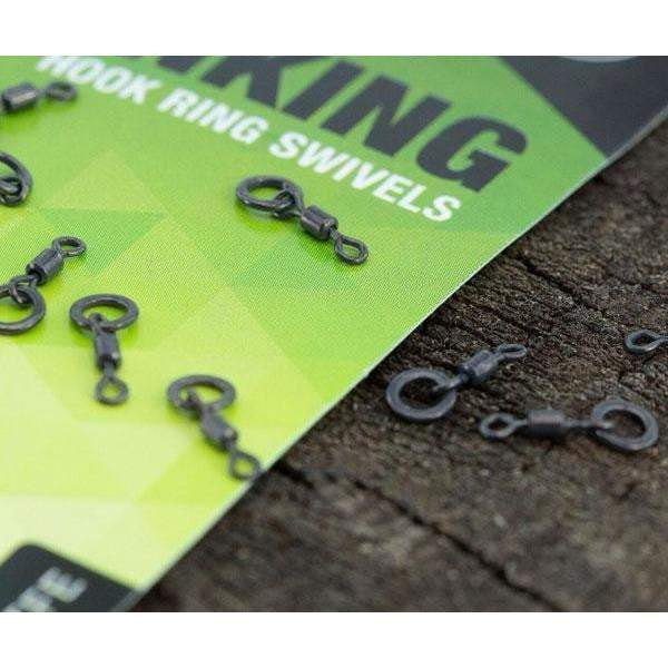 THINKING ANGLERS PTFE HOOK RING SWIVELS - taskers-angling