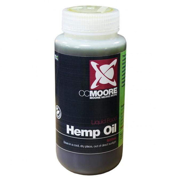 C C Moore Hemp Oil 500ml - taskers-angling