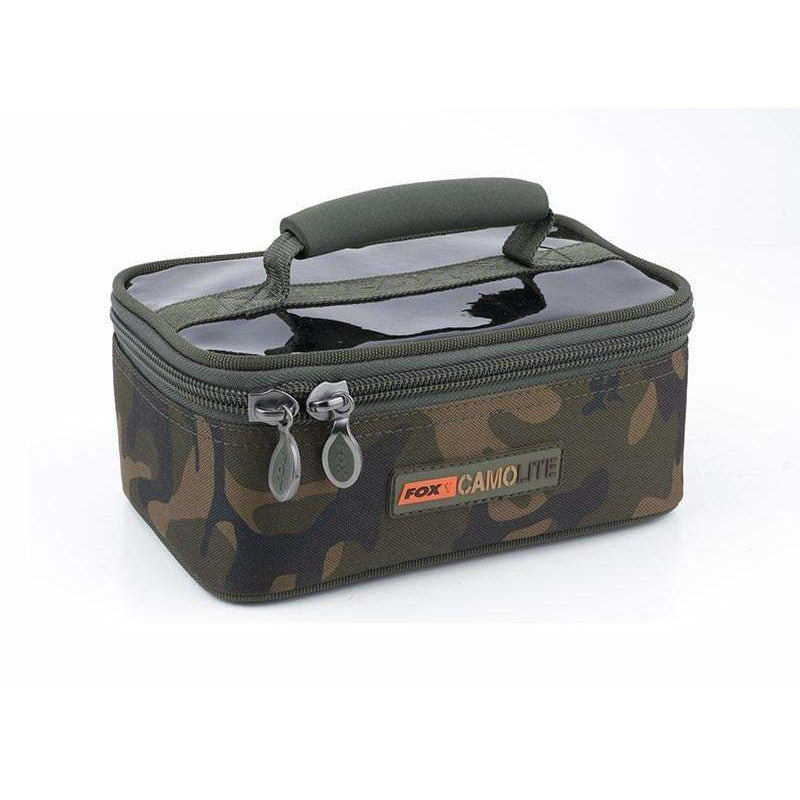 Fox Camolite Rigid Lead and Bits Bag - taskers-angling
