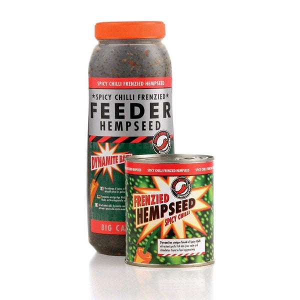 Frenzied - Chilli Hempseed Jar 2.5L - taskers-angling