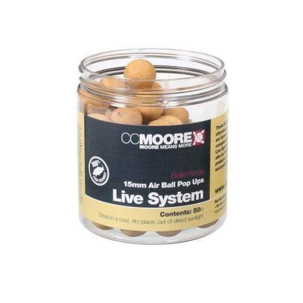 C C Moore Live System Air Ball Pop Ups 15mm - taskers-angling