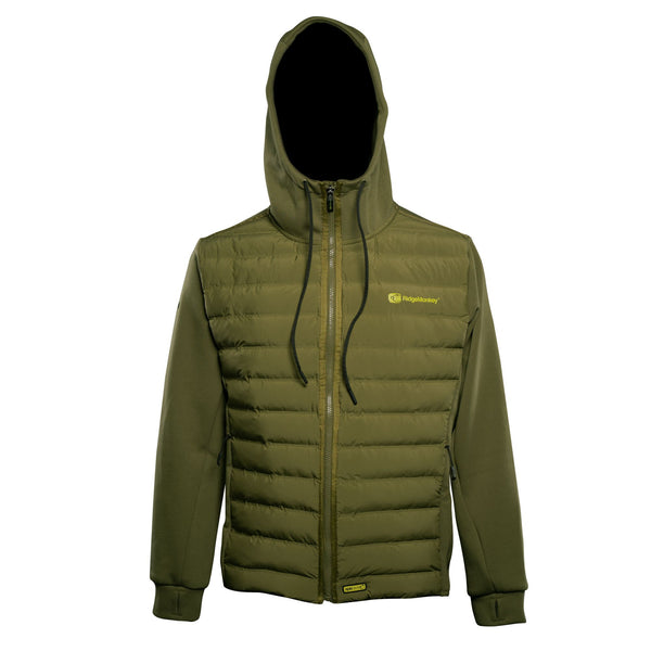 RidgeMonkey Dropback Heavyweight Zip Jacket Green