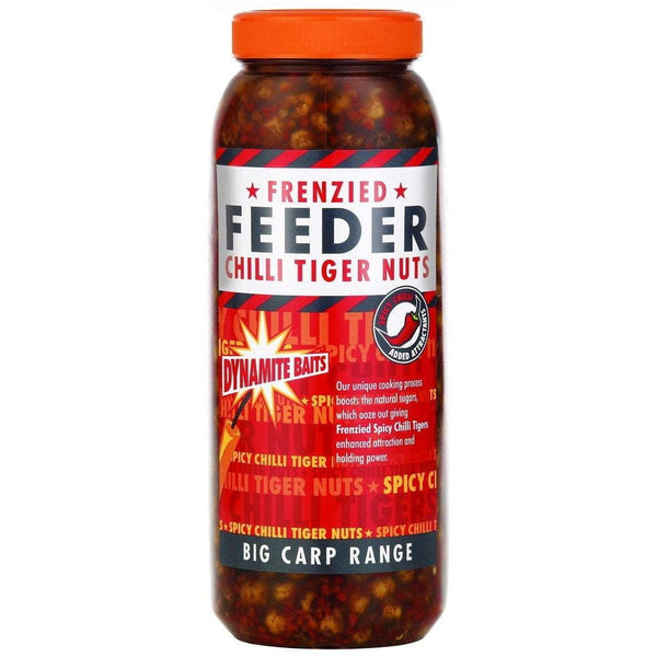 Frenzied - Chilli Tiger Nuts Jar 2.5L - taskers-angling