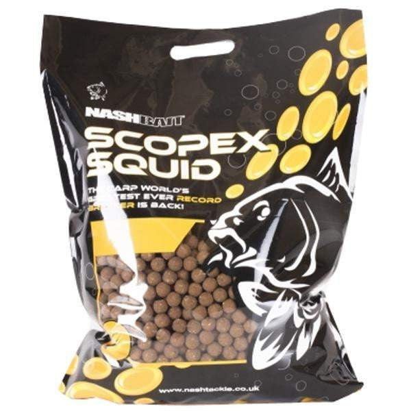 Nash Scopex Squid Stabilised Boilies 15mm 5KG - taskers-angling