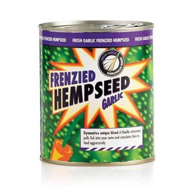 Frenzied Garlic Hempseed Can 700g - taskers-angling