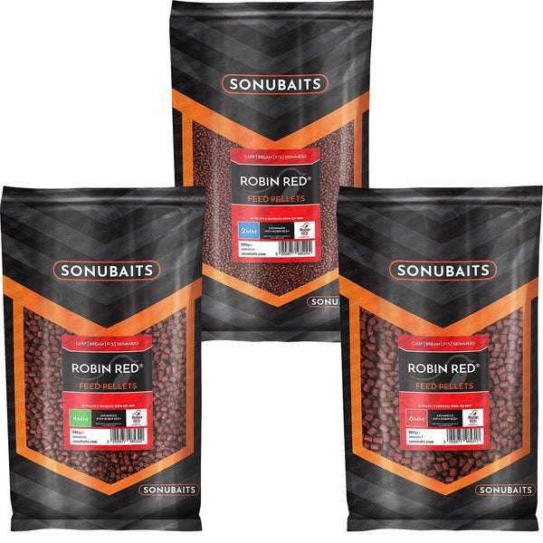 Sonubaits Robin Red Feed Pellets 900g