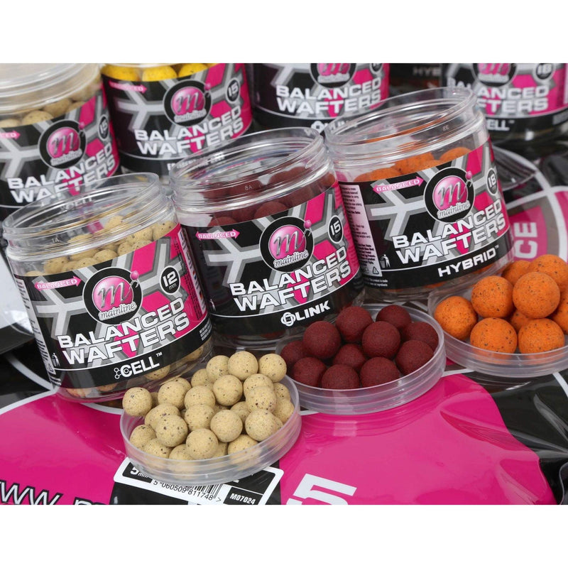 Mainline Balanced Wafters 12mm - taskers-angling