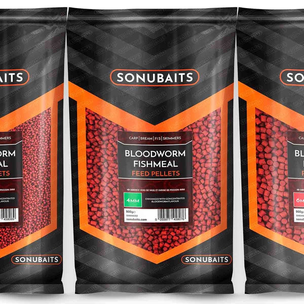 Bloodworm Fishmeal Feed Pellet - taskers-angling