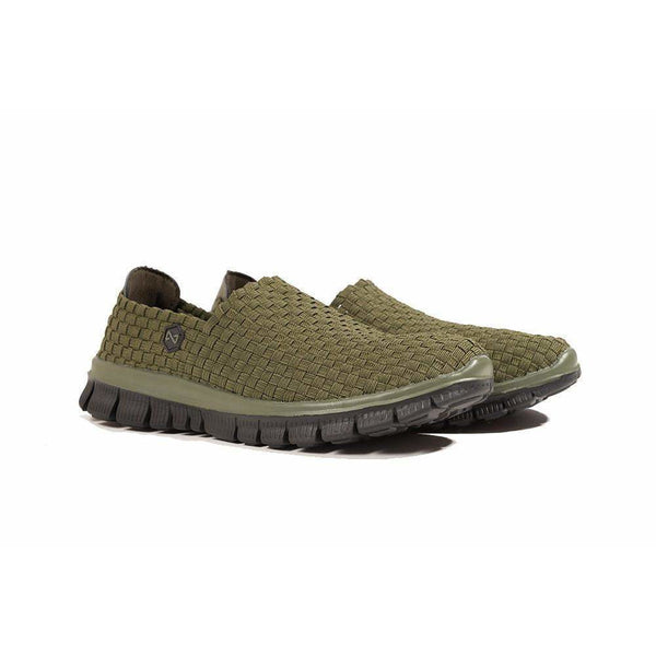 Navitas NVTS Weave Slip On Green - taskers-angling
