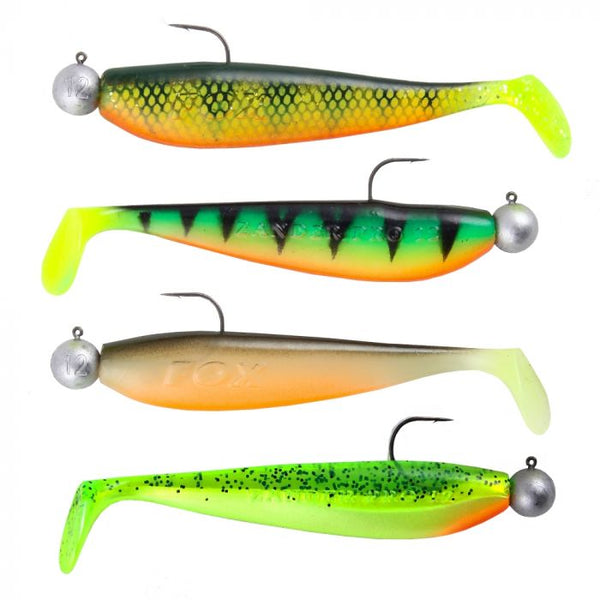 Fox Rage Loaded Zander 10cm Mixed Pack