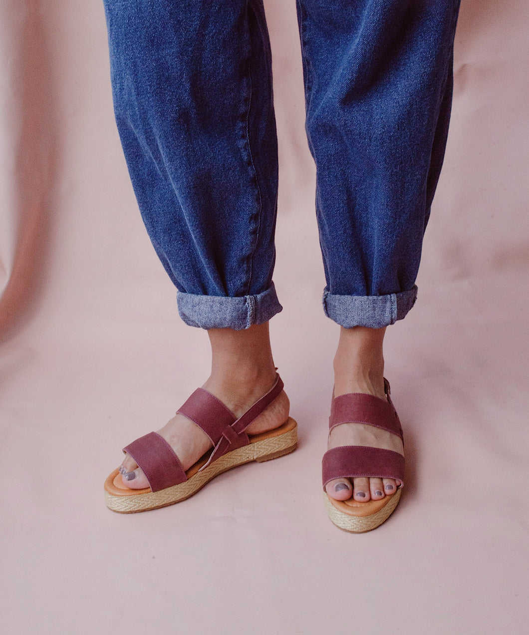 Basic espadrille sandals