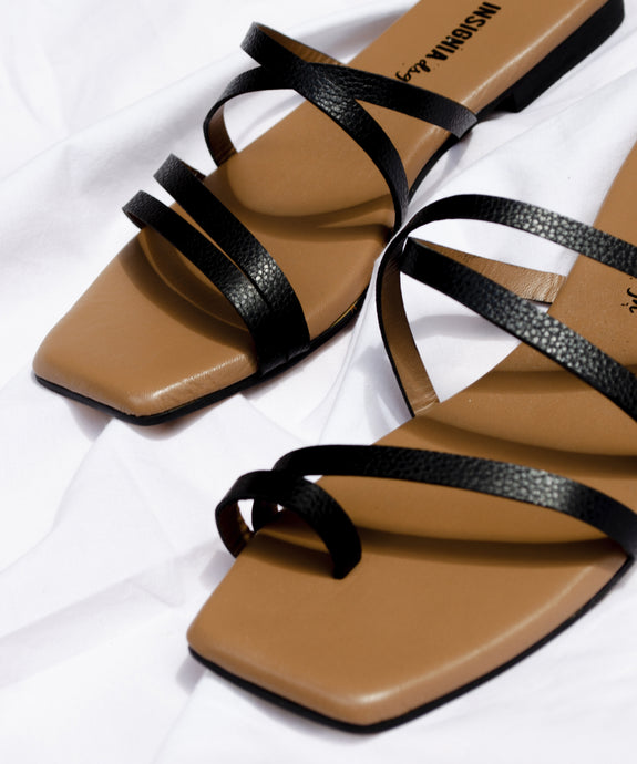 Isla sandals - Negro (True Black)