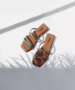 Isla sandals - Verde (Matcha Green)