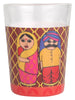 ALL THINGS SUNDAR TAPRI GLASS SET OF 4 BABUSHKA K01-125