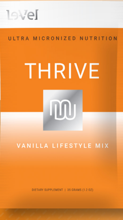 Le Vel Thrive Vanilla Lifestyle Mix Hooli Naturals